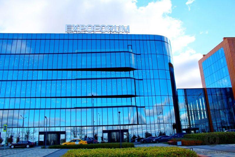 Конгрессно-выставочный центр Экпофорум в Санкт-Петербурге