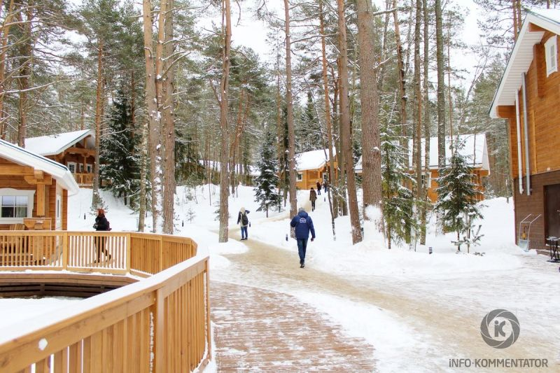Курорт Дом у моря в Выборгском районе Ленинградской области