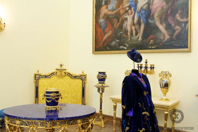 Лионский зал в Екатерининском дворце|ГМЗ Царское Село