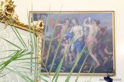 Воссоздан портал из лазурита в Лионском зале