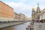 Набережная канала Грибоедова в Санкт-Петербурге