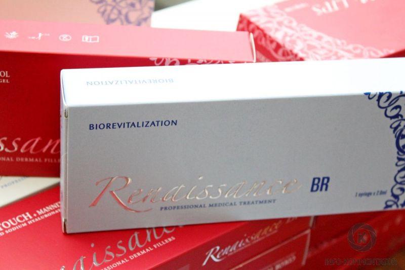Филлер (filler) Renaissance BR (Ренессанс БР): инновационный препарат, оказывающий эффект выраженной ревитализации и осветления кожи