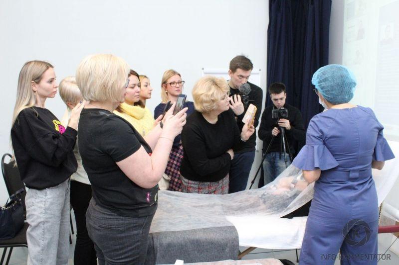 Мастер-класс для врачей-косметологов в Санкт-Петербурге