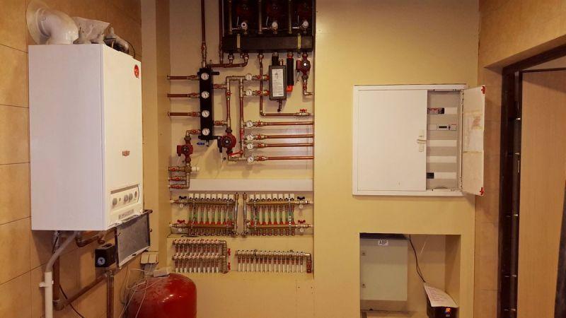 Монтаж инженерных систем: отопление и водоснабжение загородного дома в Ленинградской области (Ленобласти)